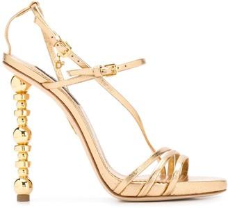 DSQUARED2 Embellished-Heel Stiletto Sandals