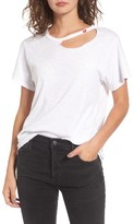 LnA Women's Kissed Cutout Tee