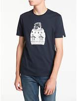 Original Penguin Kevin's Hat T-shirt, Dark Sapphire