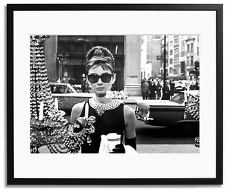 Sonic Editions Hepburn Getting a Breakfast At Tiffany's Framed Photo