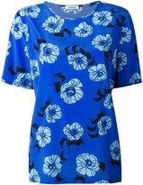 P.A.R.O.S.H. floral print top - women - Silk/Spandex/Elastane - XS