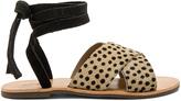 Urge Roxy Calf Hair Sandal