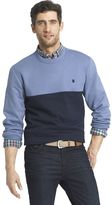 Izod Men's Advantage Regular-Fit Colorblock Crew Pullover