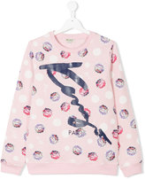 Kenzo teen printed sweatshirt - kids - Cotton - 14 yrs