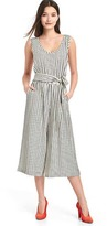 Gap Stripe culotte tank jumpsuit