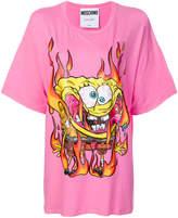 Moschino Spongebob motif T-shirt