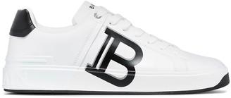 Balmain Court Classic logo print sneakers
