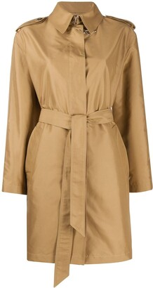 Fay Short Trench Coat