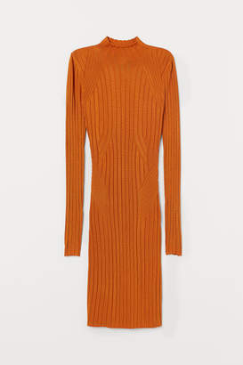 H&M Knitted bodycon dress