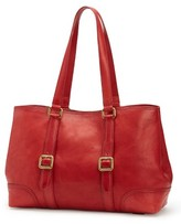 Frye Claude Leather Tote - Red