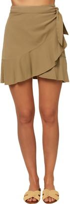 O'Neill Rifraff Woven Wrap Skirt