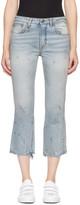 R 13 Blue Kick Fit Jeans