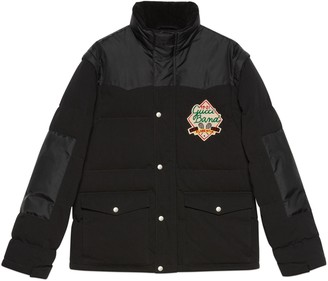Gucci Down jacket with detachable sleeves