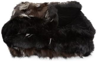 Wolfie Fur Fox Fur Blanket
