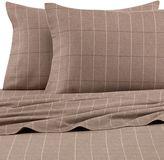 Bed Bath & Beyond Palais RoyaleTM Heavyweight Flannel Standard Pillowcases in Grey Plaid (Set of 2)