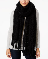 Steve Madden Braided Bunch Oversized Scarf
