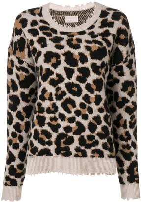 Zadig & Voltaire Zadig&Voltaire kansas leopard pullover