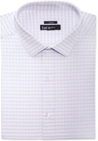 Bar III Men's Slim-Fit Stretch Easy Care Twill Gingham Dress Shirt, Only at Macy's