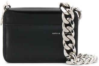 Kara Logo Crossbody Bag