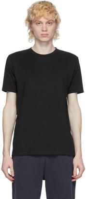 Sunspel Black Organic Cotton Riviera T-Shirt