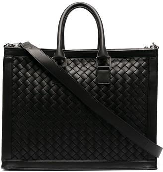 Bottega Veneta Intrecciato Weave Briefcase Bag