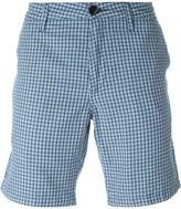 Paul Smith checked chino shorts