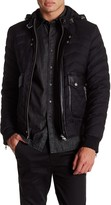 The Kooples Quilted Flannel Jacket
