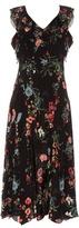 Rebecca Taylor Meadow Floral sleeveless ruffled dress