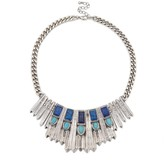 Sole Society Ornate Tribal Statement Necklace