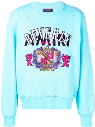 Amiri Beverly jersey sweater