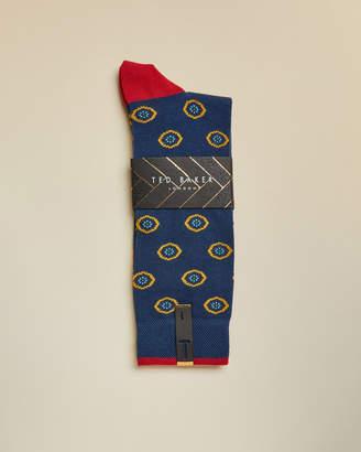 Ted Baker LARGO Intricate spot socks