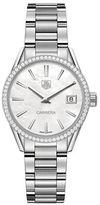 Tag Heuer Carrera 0.621TCW Diamonds and Steel Bracelet Watch, WAR1315BA0778