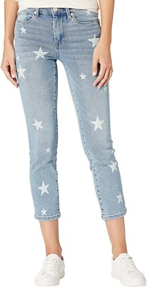 Blank NYC Madison High-Rise Crop Star Detailed Skinny Jeans in Ever After (Ever After) Women's Jeans