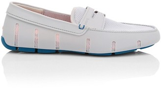 Swims Mesh Cutout Penny Loafers