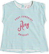 Roxy Striped Graphic-Print Cotton T-Shirt, Toddler & Little Girls (2T-6X)