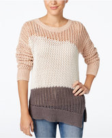 Calvin Klein Jeans Colorblocked Asymmetrical Sweater