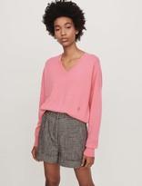 Maje Cashmere V-neck sweater