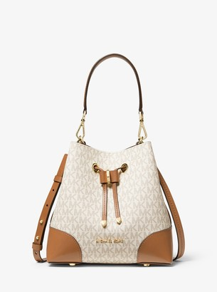MICHAEL Michael Kors Mercer Gallery Small Logo Shoulder Bag