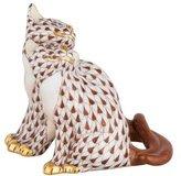 Herend Pair of Kittens Figurine