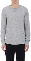 Vince Men's Cotton-Blend Long-Sleeve Shirt-GREY