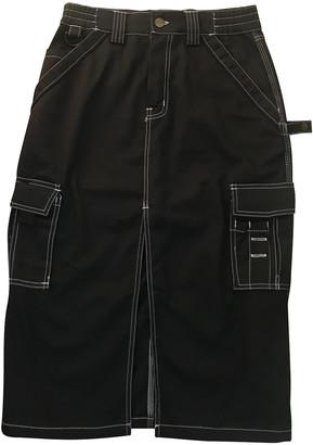 Dickies Black Cotton Skirts