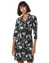 Nine West Women's Draped Neckline Dress