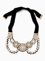 Kate Spade Luminous statement bib necklace