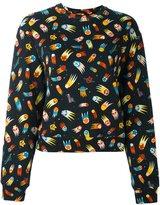 Love Moschino 'space' print sweatshirt