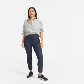 Everlane The Curvy Side-Zip Stretch Cotton Pant