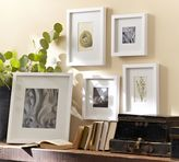 Pottery Barn Wood Gallery Single Opening Frames - White