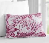 Pottery Barn Kids Nantucket Embroidered Palm Pillow