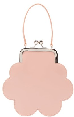 Simone Rocha Flower Leather Cross-body Bag - Womens - Pink
