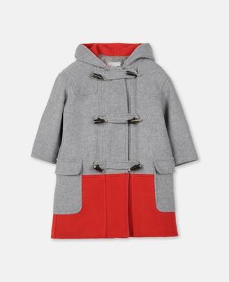 Stella Mccartney Kids Stella McCartney wool montgomery coat