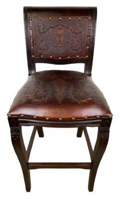 "Astoria Grand Navarette Leather 30"" Bar Stool (Set of 2"